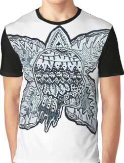 Stranger Things Eleven and Demogorgon Graphic T-Shirt