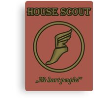 Team RED - House Scout Canvas Print