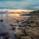 Bembridge Beach Sunrise by manateevoyager