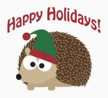 Happy Holidays! Hedgehog elf Kids Clothes