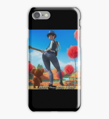 The Lorax how bad can i be iPhone Case/Skin