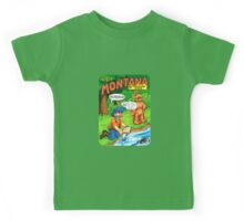 Montana Gold Rush United States of ALF Travel Decal Kids Tee