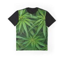 Marijuana Cannabis Weed Pot Plants Graphic T-Shirt