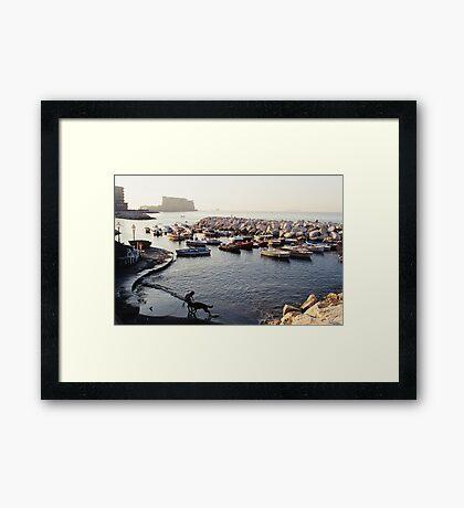 naples Framed Print