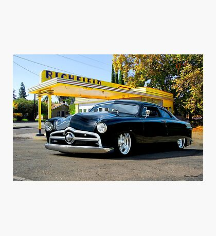 1950 Ford Custom Coupe II Photographic Print