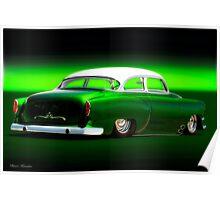 1954 Chevrolet Rad Custom Bel Air Poster