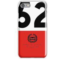 Rallye Monte-Carlo Mini Cooper S - 52 iPhone Case/Skin