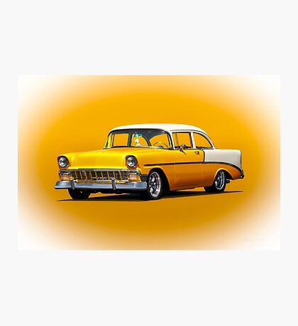 1956 Chevrolet Bel Air 'Post' Coupe Photographic Print