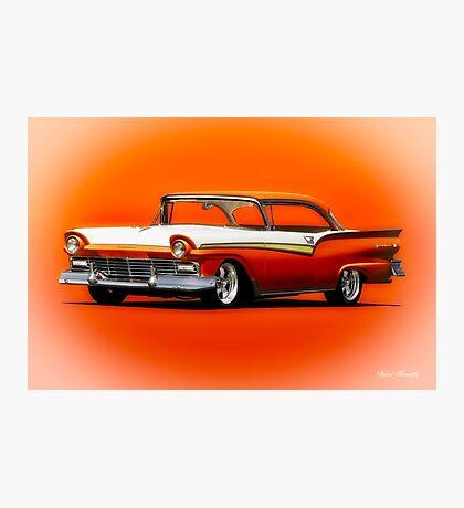 1957 Ford Fairlane Hardtop Photographic Print