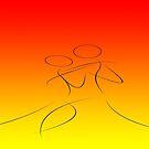 Firey Tango 2 by Michael Birchmore