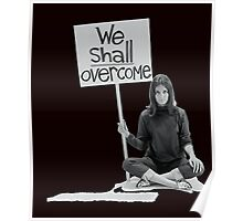 """Women's Movement """"We Shall Overcome"""" Poster"""