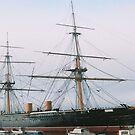 HMS Warrior 2 by Michael Birchmore