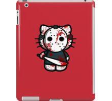 T-shirt parody HELLO kitty KILLING (no text) iPad Case/Skin