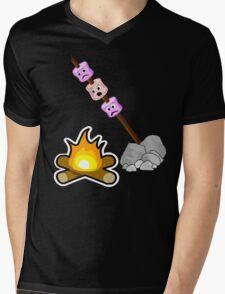 Marshmallows Mens V-Neck T-Shirt