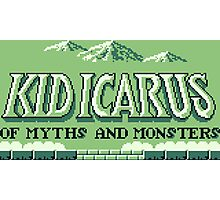 Kid Icarus Of Myths and Monsters (Game Boy) Photographic Print