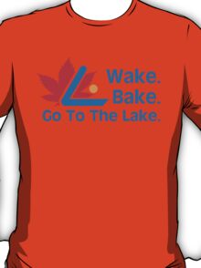 Defending Awesome - Wake Bake Go To The Lake T-Shirt