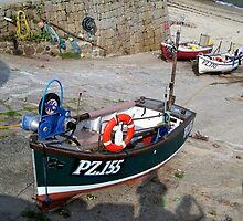 Fishing Boats at Sennen Cove by hootonles