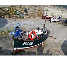 Fishing Boats at Sennen Cove Photographic Print