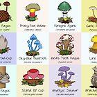 #FungiFriday Poster 2 by Immy Smith (aka Cartoon Neuron)