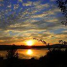 Inch Island Evening Sky......................Ireland by Fara