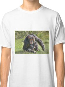 Common Chimpanzee, Pan troglodytes Classic T-Shirt