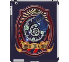 The Twelfth Doctor - Lords Of Time And Space iPad Case/Skin