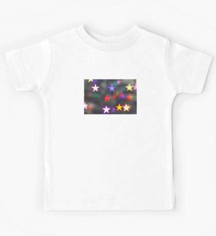 Starry Lights - Lomography Daguerreotype Achromat Photograph Kids Tee