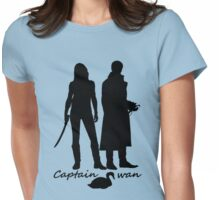 Captain Swan version 2 Womens Fitted T-Shirt