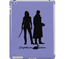 Captain Swan version 1 iPad Case/Skin