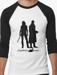 Captain Swan version 1 Men's Baseball ¾ T-Shirt