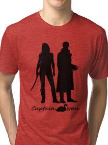 Captain Swan version 1 Tri-blend T-Shirt