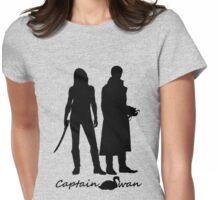 Captain Swan version 1 Womens Fitted T-Shirt