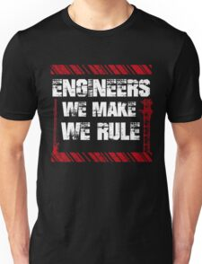 Sayings About Engineers Unisex T-Shirt