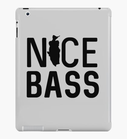 Nice Bass iPad Case/Skin