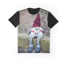 Helga On The Fence Graphic T-Shirt