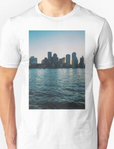 Sunset at harbour Unisex T-Shirt