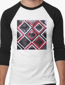 Fracture Men's Baseball ¾ T-Shirt