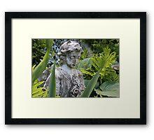 The Girl Amongst the Ferns II Framed Print