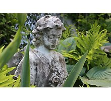 The Girl Amongst the Ferns II Photographic Print