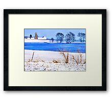 Silence of the Snow Framed Print