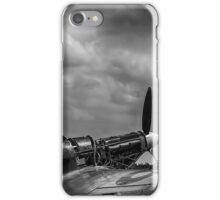 Covers Off 2 Black and White iPhone Case/Skin