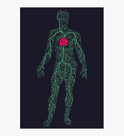 Spring Heart Photographic Print