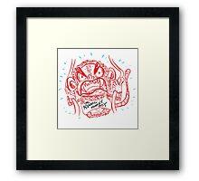 The Aquatic Monkey Boy Framed Print
