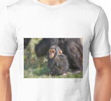 Baby Common Chimpanzee, Pan troglodytes Unisex T-Shirt