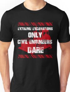 Grunge Style Engineer Unisex T-Shirt