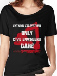 Funny Civil Engineer Women's Relaxed Fit T-Shirt