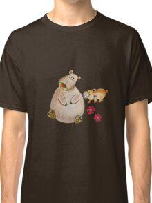 Cute bears mom and cub Classic T-Shirt
