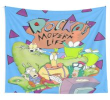 Rocko's Modern Family Wall Tapestry