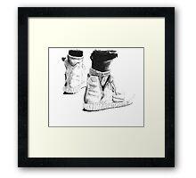 YEEZY ART Framed Print