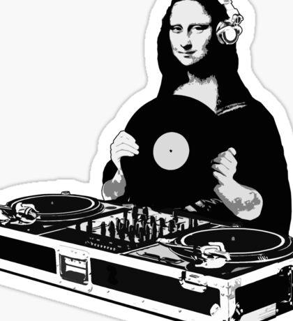 DJ Mona Lisa Sticker